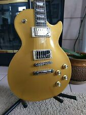 Epiphone Les Paul Standard Electric Guitar - Gold Top Like New w/Hardshell Case