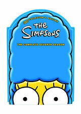"""The Simpsons - Season 7 (DVD, 2005, 4-Disc Set, Molded """"Marge Head"""" Packaging)"""