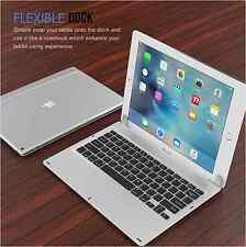 """Apple iPad Pro 12.9"""" Tablet Case Bluetooth Keyboard Protective Cover Silver New"""