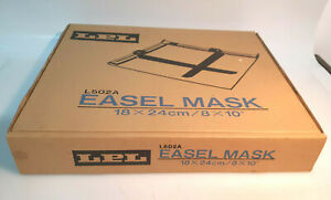 """New LPL Easel Mask 8x10"""" (18x24cm) P.N L502A two Blade--- K004"""