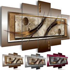 Astratto Marrone Oro ornamenti immagini muro immagini XXL tessuto non tessuto te...