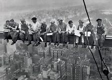 Il pranzo in un grattacielo Uomini sulla trave primaria POSTER NEW YORK CITY 91.50x61cm MAXI