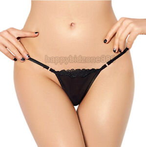Women Sexy See-through Lace Panties Briefs Lingerie Thong Plus size M-6XL