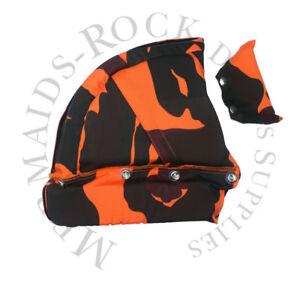 Commercial Diving: Hat Liner Orange Camouflage