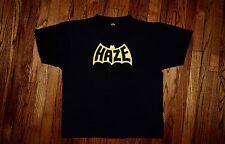 BATHAZE 1986-1987 Eric HAZE graffiti artist vintage 80s rap hip hop T-shirt XL