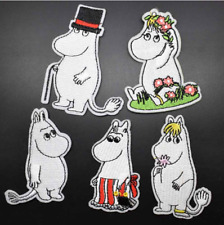 NEW! The Moomins Iron on embroidery patches 10 designs to choose from