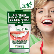 Super Pure Activated Charcoal Powder Coconut Shell Organic Teeth Whitening