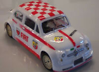 "Carrozzeria Body RC scala 1/18 ""FIAT 500 ABARTH"""