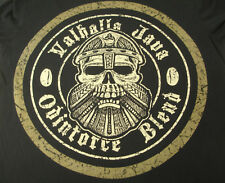 Valhalla Java Odinforce Blend Death Wish Coffee Co. T-Shirt Made in USA Mens XL