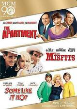 The Apartment/The Misfits/Some Like It Hot Dvd, Ws, New Sealed, Monroe, Mgm 90