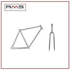 Set Frame Fork Fixed 700c X 58 Steel TIG Rough 495825800 RMS Click Fi