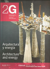 2G 18 Architecture & Energy International Architecture 1st Ed English Spanish