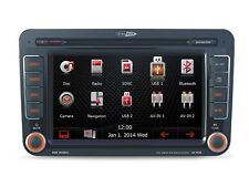Caliber Navigation 2DIN Bluetooth Komplettset für VW Golf 5 05-09