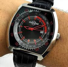 Watch Chronostar Design Sector Watch Oversize 45MM Watch Steel Quartz, NOS