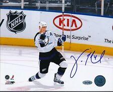 Vincent Lecavalier Lightning Signed 8x10 Photo Autograph Auto Steiner