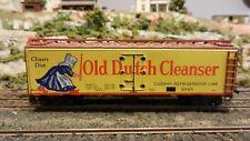 Varney HO Vintage Old Dutch Cleanser Lithographed Metal Reefer,  Exc.