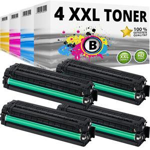 4x XXL TONER für SAMSUNG Xpress C1810 FW C1810W C1860FW CLX4195N Kartusche Set