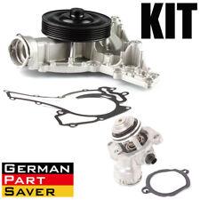 New Engine Water Pump + Gasket + Thermostat Kit for Mercedes W204 W211 W251 W164