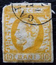 Rumanía mié 27, SC 44, el príncipe Karl I, con sello, grado de calidad II