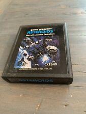 Asteroids Atari 26001981 CX2649 Video Game Good Condition