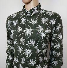 TOMMY HILFIGER Chemise homme lin palmier plage vacances XXL tour de poitrine 48 Neuf RRP £ 105
