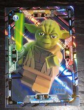Lego star wars serie 1 TCG card limited edition LE1 mistrz yoda