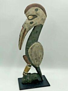 Hornbill Carved Bird Sepik Sculpture Oceanic Tribal Art Papua New Guinea Rare