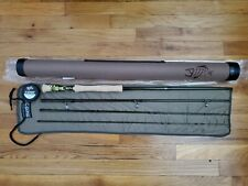 G. LOOMIS CROSSCURRENT GLX 10812-4 9' FT #12 WT FLY ROD OLIVE
