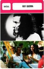 FICHE CINEMA :  RUY GUERRA -  Brésil (Biographie/Filmographie)