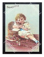 Historic Kendall Mfg. Company 1891 Soapine Advertising Postcard