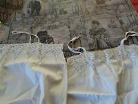 lot =femme T38/ 40vintage ans,50 =2fonds de robe ,belle dentelle vétement époque