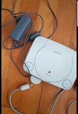 playstation 1 konsole mit spiel
