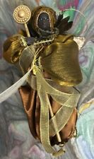 "SANDY DOLLS African Angel Christmas Tree Ornament ~ ASHA 7"" ~ New in Box"