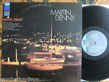 Martin Denny-EXOTIC Night LP Sunset Records – sus-5199 - USA 1968