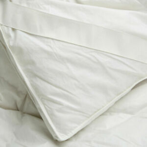 100%  Hungarian Goose Down Mattress Topper Cotton Cover Protector All Sizes