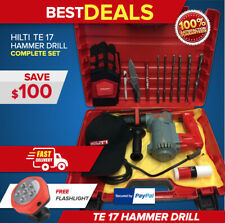 Hilti Te 17 Preowned Original Strong All Free Extras Durable Fast Ship