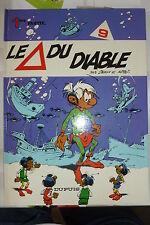 BD les petits hommes n°9 le triangle du diable réédition 1987 TBE seron