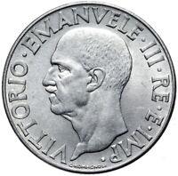 Italien - Vittorio Emanuele III - Münze - 1 Lire 1942 R - XX - Rom