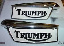 1969-79 Triumph T100, T120, T140, T150, Tank Emblems & Screws, F/SH