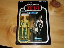 Vintage Star Wars Return of the Jedi 8D8  Kenner Hong Kong MOSC 77 back
