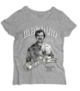 Women's Magnum Pi Inspired Al Telefilm With Tom Selleck Ages 80 T-Shirt