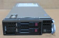 HP ProLiant BL460c G8 Serveur Lame 2x Xeon Quad-Core E5-2609 2.4GHz CPU 32 Go Ram
