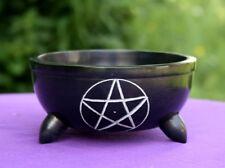 Räucherschale Speckstein Pentagramm - groß