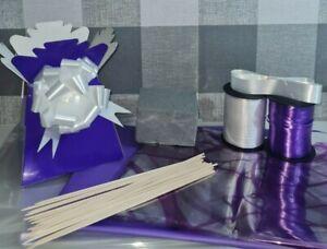 Make Your Own DIY Chocolate bouquet kit Cellophane bow box oasis sticks ribbon
