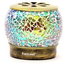 Francase Bluetooth 3.0 Speaker Decorative Lamp Green LED Light USB Mini SD Card