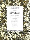 Asturias Sheet Music Leyenda - Preludio Guitar NEW 014001382