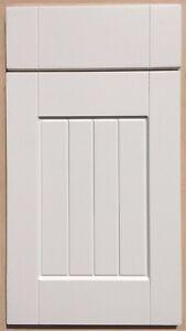Tongue & Groove Shaker Matt Ivory/Country Cream Kitchen Cupboard Doors/drawers