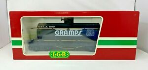 LGB 4080 Y02 G SCALE GRAMPS SINGLE DOME TANK CAR LN CONDITION AND NEVER USED