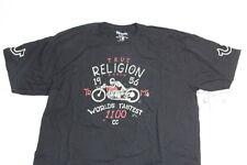 New True Religion Men Logo   Shirt XXL 2XL XXLARGE made in China