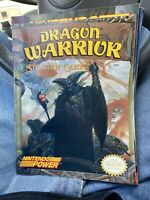 Dragon Warrior Nintendo Power Strategy Guide Hit Book Magazine 1989 Vintage Rare